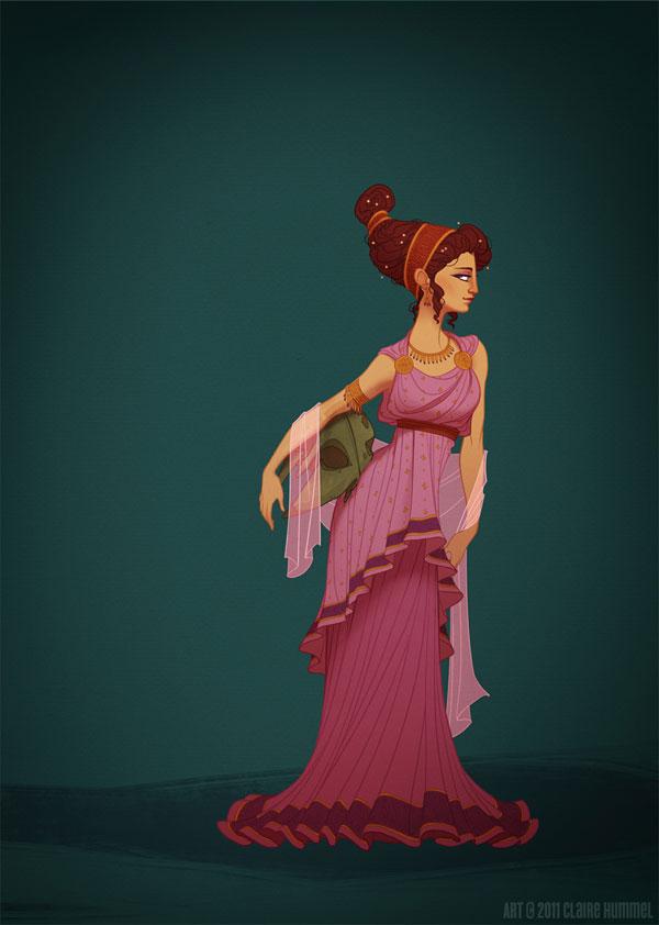 Princesas Disney com vestidos históricos